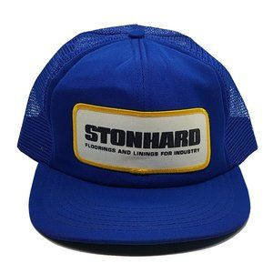 Vintage 80s Stonhard Baseball Hat Truckers Cap